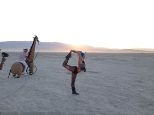 Burning Man in Reno, Nevado
