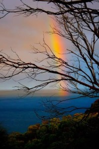 Sunset Rainbow, Great Ocean Road Walk