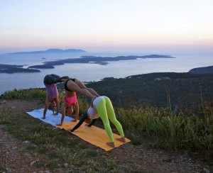 Mountain Yoga on Hvar Island, Croatia