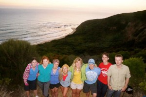 Friends made along the way, Great Ocean Road Walk