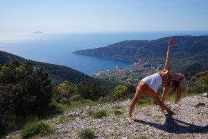 Mountaintop Triangle Pose