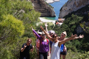 Group Hike to a Secluded Beach