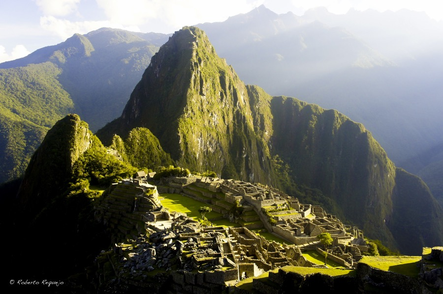 Peru - Machu Picchu at Sunrise